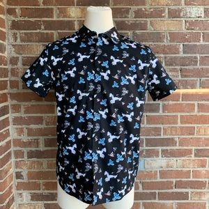 Reaction Kenneth Cole Shirts - Reaction Kenneth Cole Short Sleeve Button Down